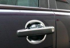 Kromade kåpor till dörrhandtag (inre)  - Mercedes Benz  W163
