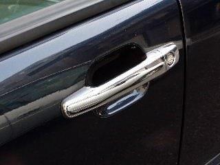 Kromade kåpor till dörrhandtag  - Mercedes Benz W163