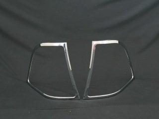 Kromade kantlister till baklampor - Mercedes Benz  W163