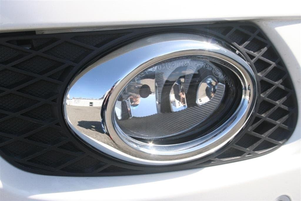 Kromade kantlister till dimljus (ovala) -2009 - Mercedes Benz  W164