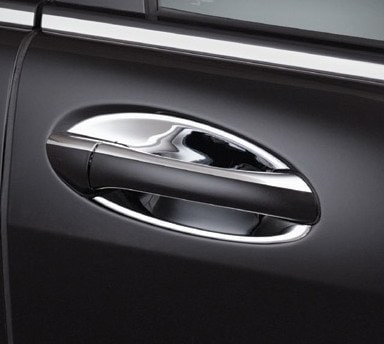 Chrome covers for doorhandles (inner) - Mercedes Benz  W164 , W169 , W245 , X164