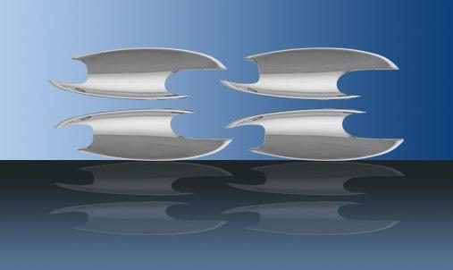 Kromade kåpor till dörrhandtag (inre) - Mercedes Benz  W164 , W169 , W245 , X164