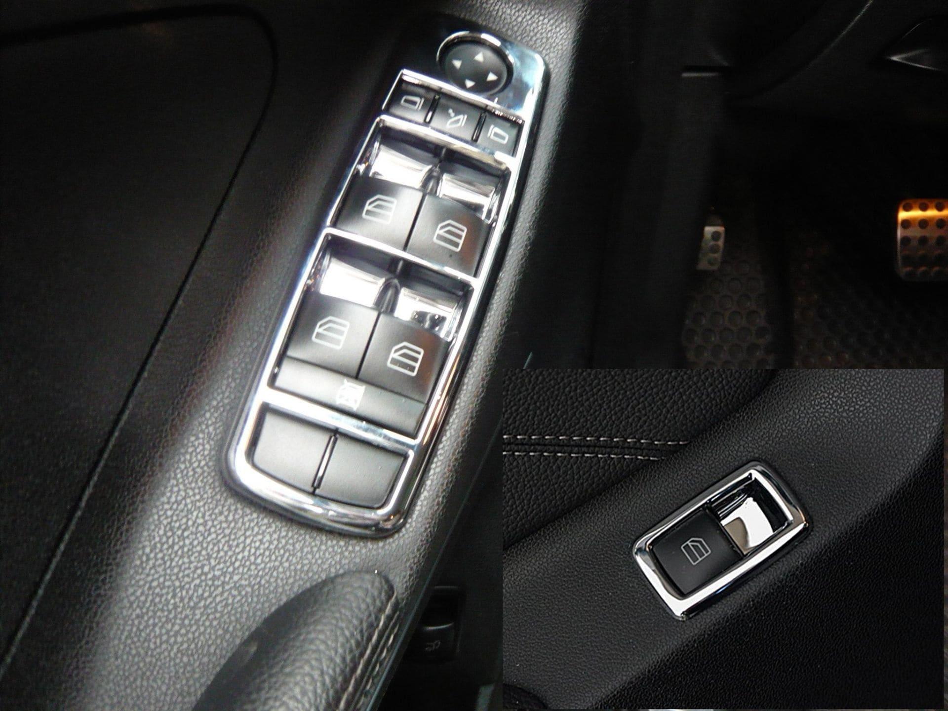 Kromad ram till knappsats - 5st delar - Mercedes Benz  W164 , X164