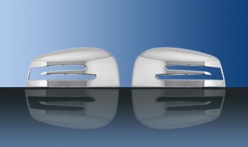 Chrome side mirror covers - Mercedes Benz W166