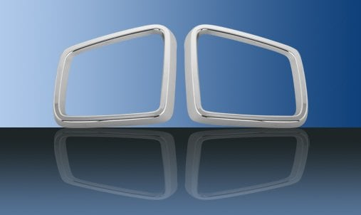 Chromed edge to side mirrors - Mercedes Benz W166