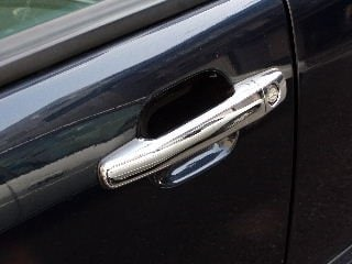 Chrome covers for doorhandles - Mercedes Benz W202,210