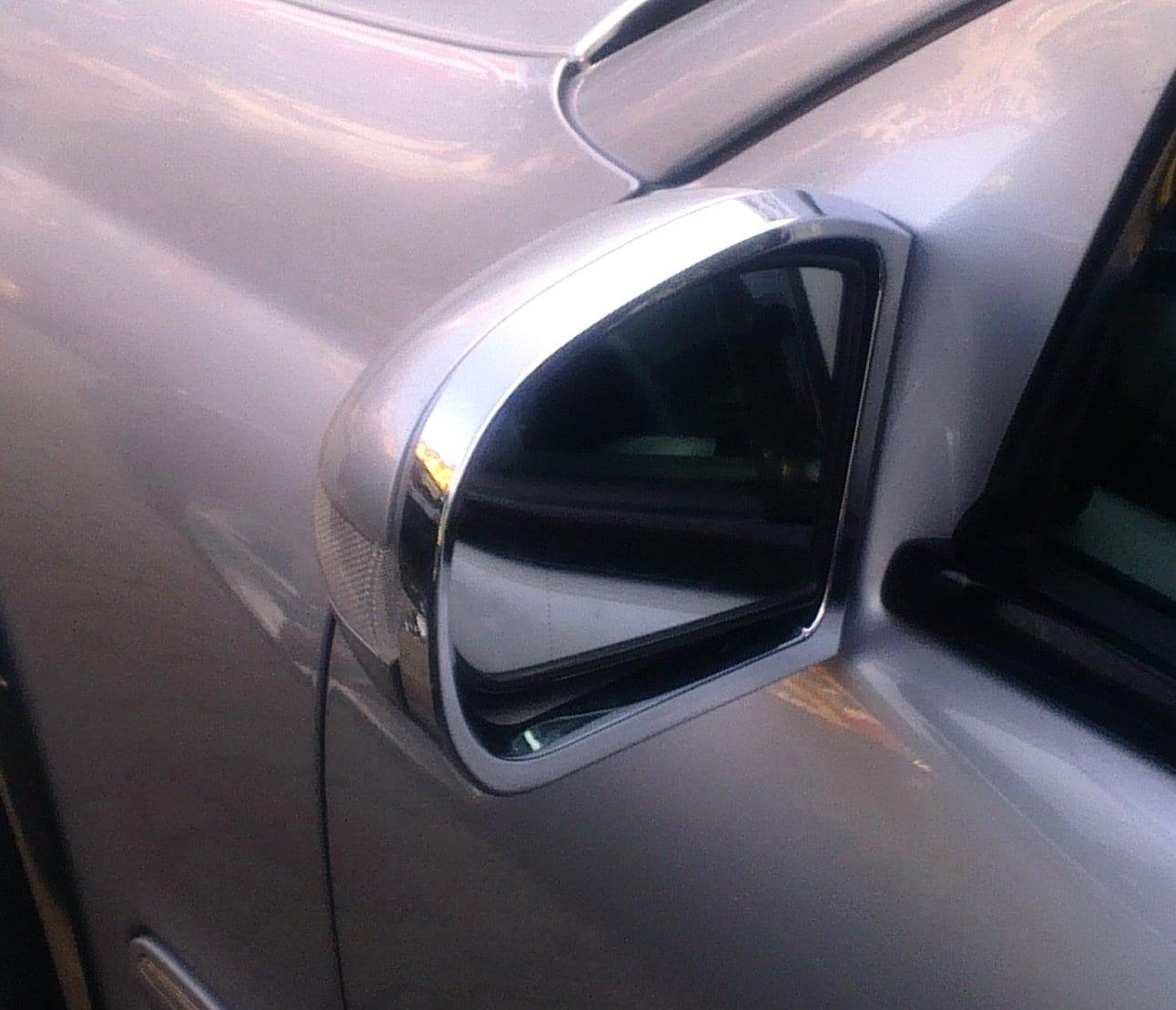 Kromad kantlist till backspeglar - Mercedes Benz  W203,W211