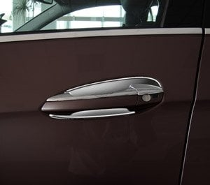 Chrome covers for doorhandles (inner) - Mercedes Benz W212,C207,W246