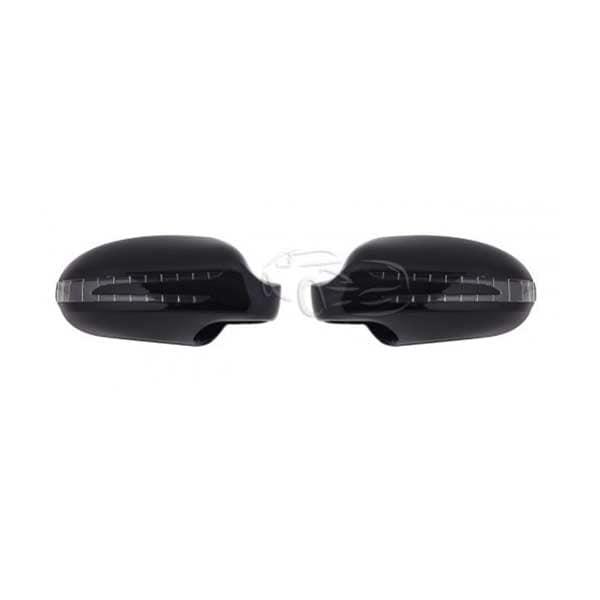 Spegelkåpor Svarta Mercedes SL R230