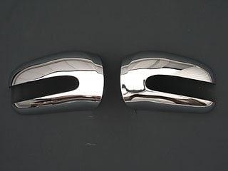 Kromade spegelkåpor - Mercedes Benz W220 & W215