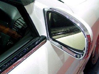 Kromad kantlist till backspeglar - Mercedes Benz  W220 & W215