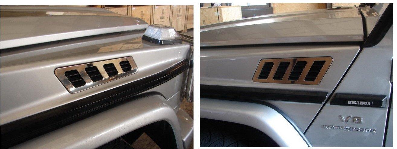 Chrome Air Intake - Mercedes Benz W463