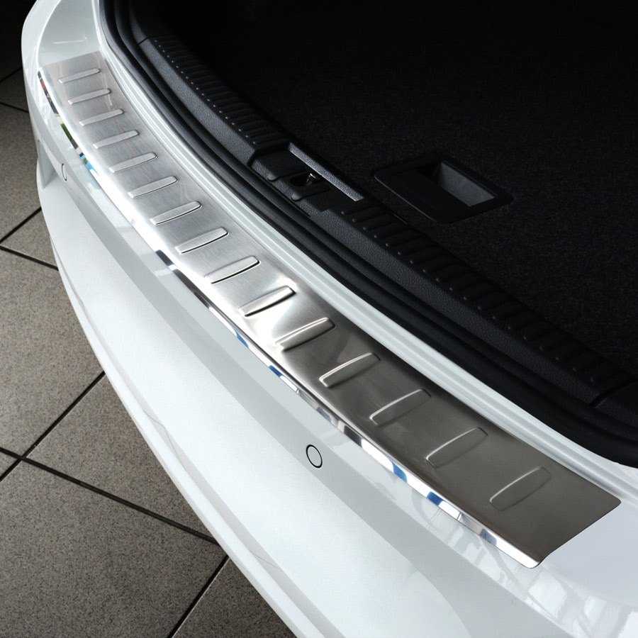 Lastskydd borstat stål VW Passat Limo