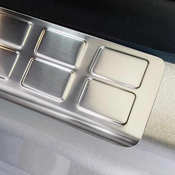 Car Door Sill Scuff Plate Protectors Trim Citroen Jumpy frontdoors