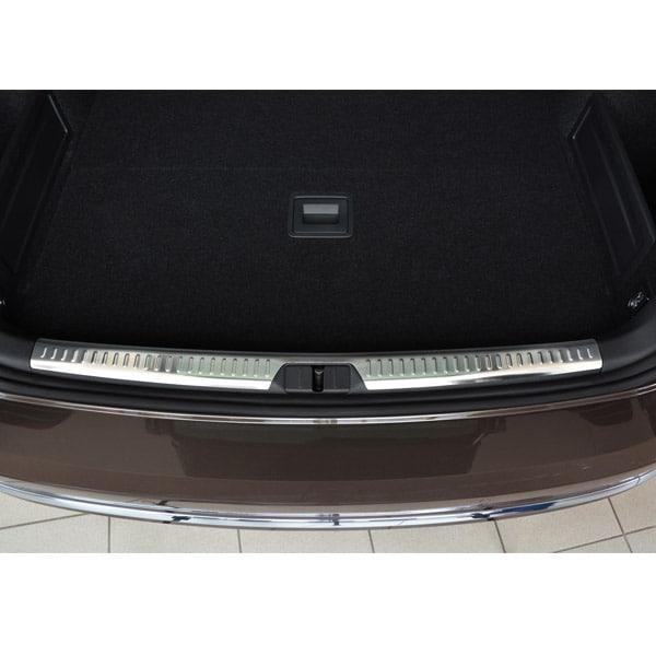 Rear bumper protector brushed steel VW Passat Variant