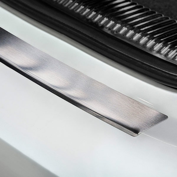 Lastskydd borstat stål Audi A6 Avant