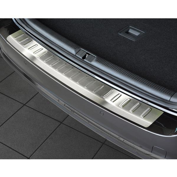 Rear bumper protector brushed steel VW Passat Alltrack
