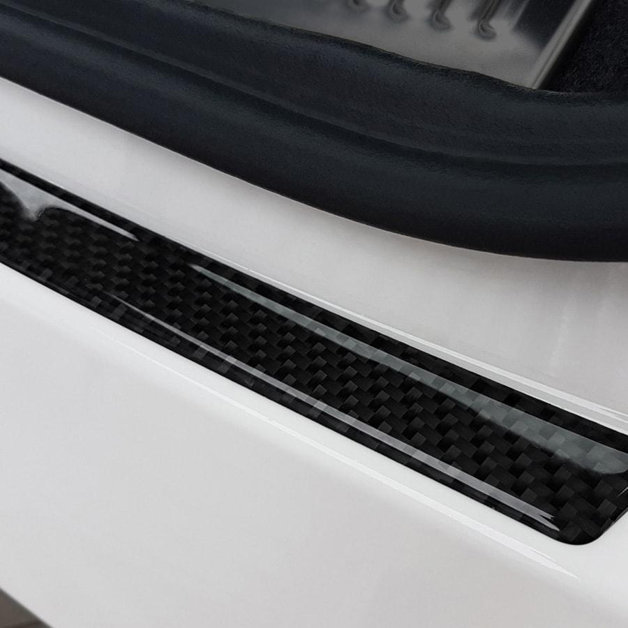 Rear bumper protector Carbonfibrelook Audi Q3