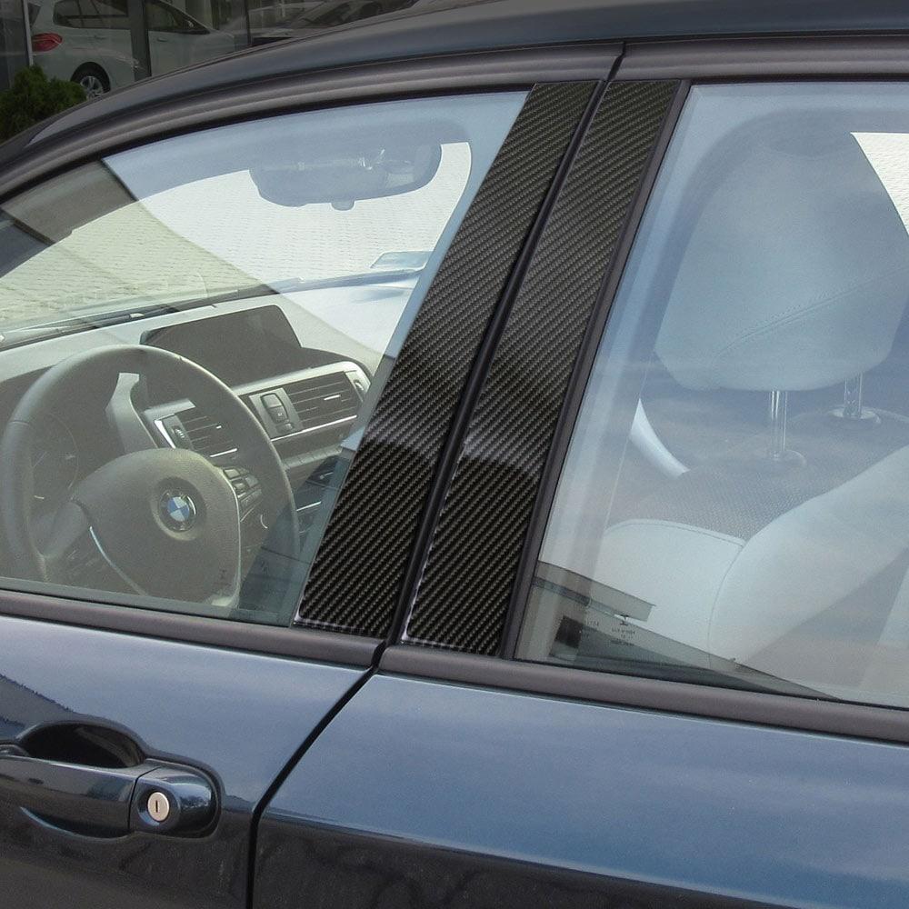 Kolfiberpanel till B-stolpen på BMW F20 5d