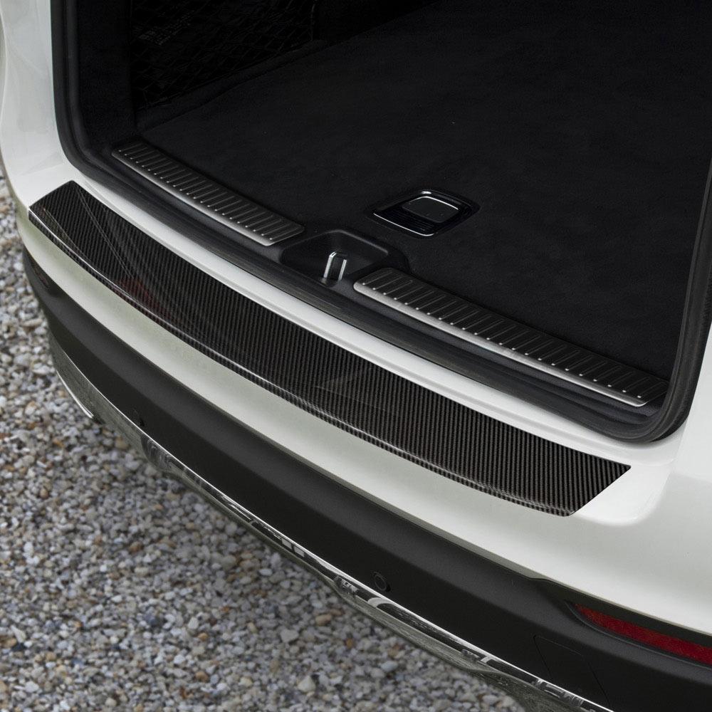 Rear bumper protector carbonfibre to  Mercedes GLC
