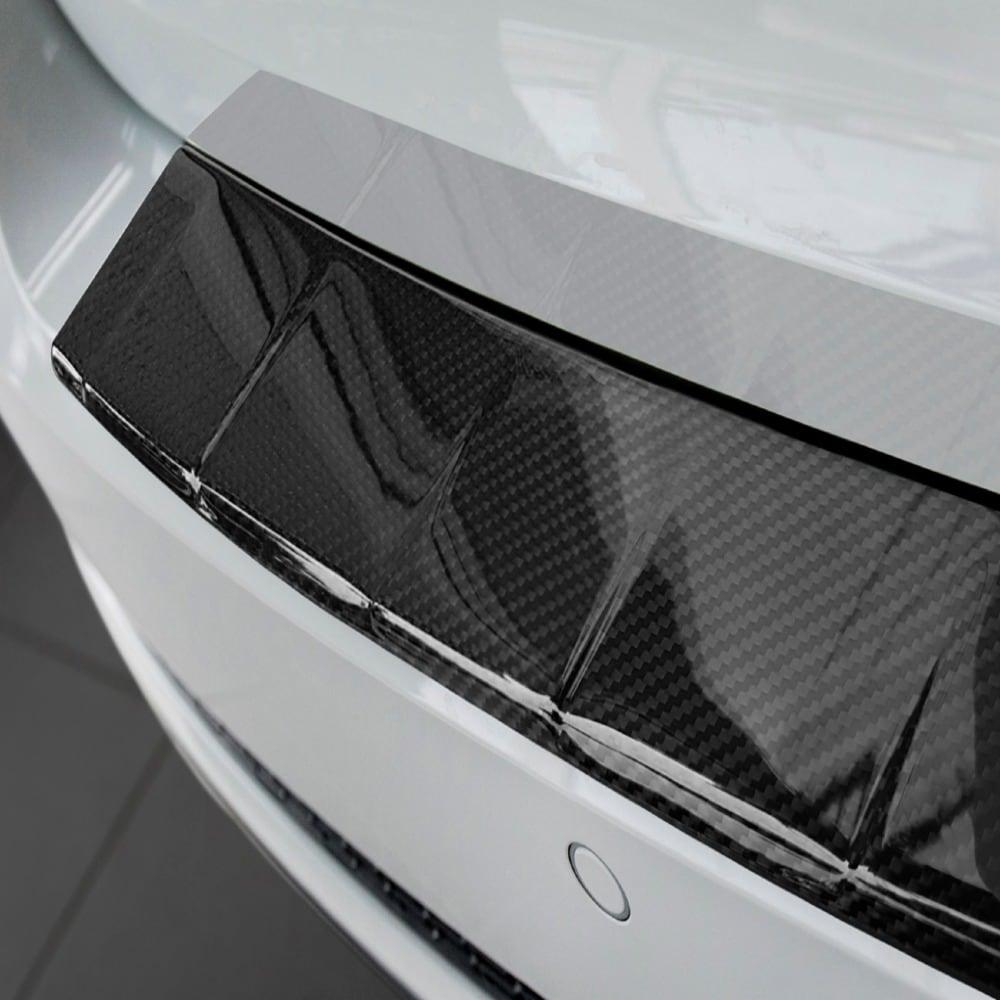 Rear bumper protector carbonfibre to  Audi A4 B9 Avant