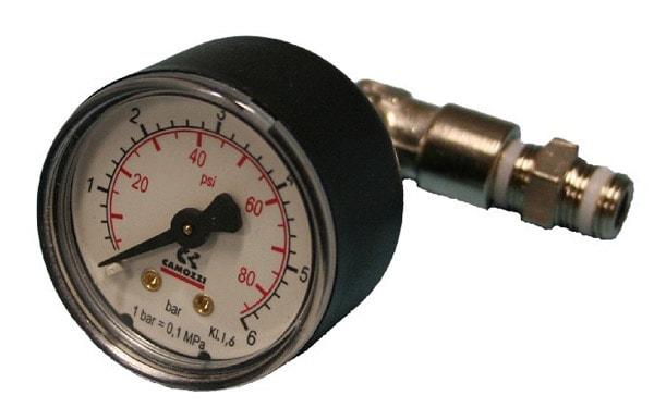 Camozzi bränsletrycksmätare 0-6 Bar