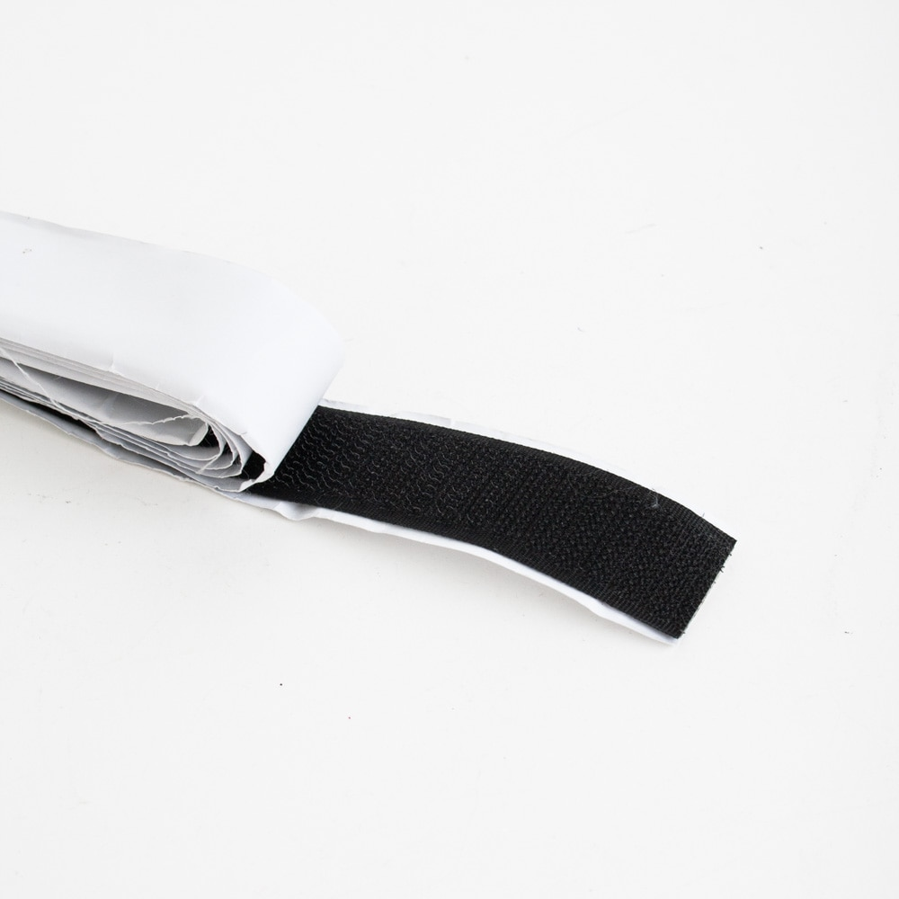 Gardin för vindruta svart/vit