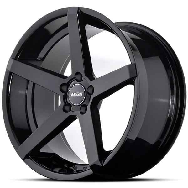 Complete wheel set of  ABS 355 Glossy black