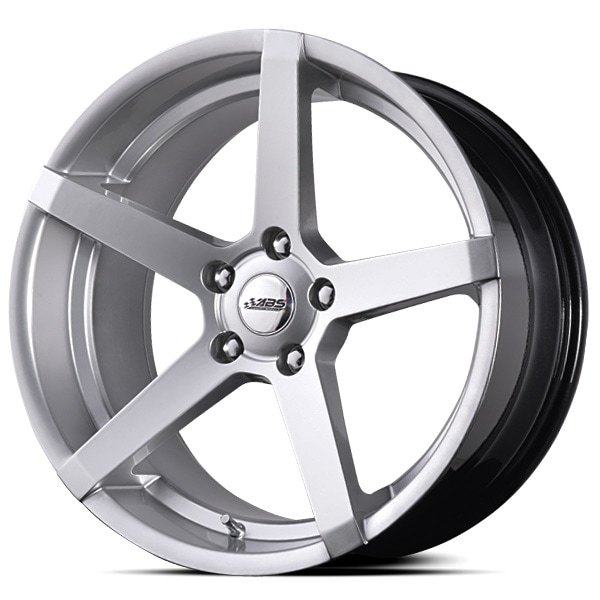 Complete wheel set of  ABS 355 Silver