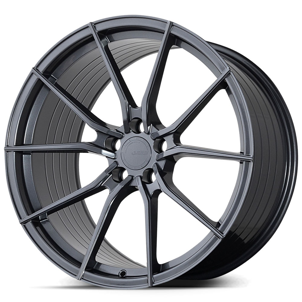 Complete wheel set of  ABS F15 Graphite