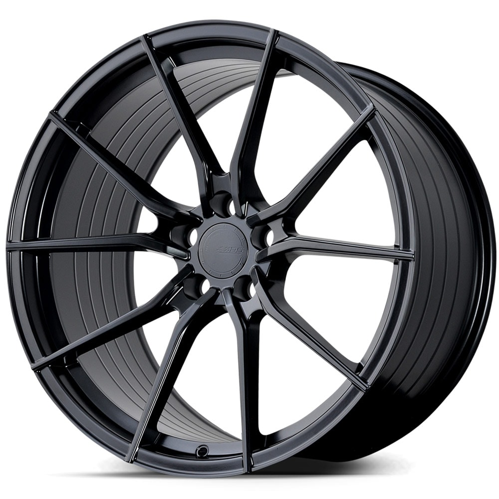 Complete wheel set of  ABS F15 Black