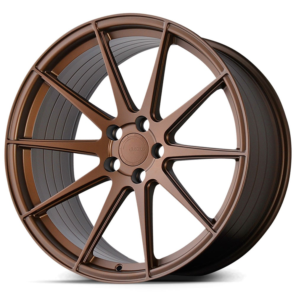 Complete wheel set of  ABS F22 Bronze