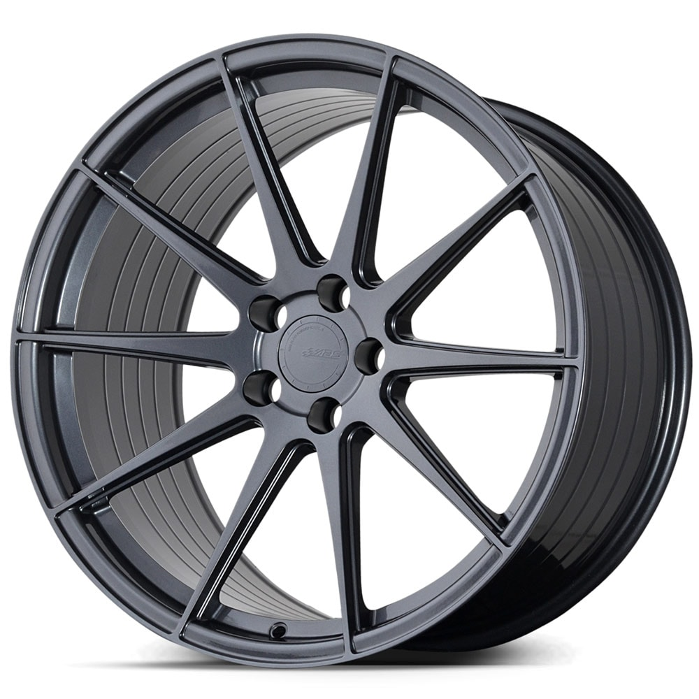 Complete wheel set of  ABS F22 Graphite