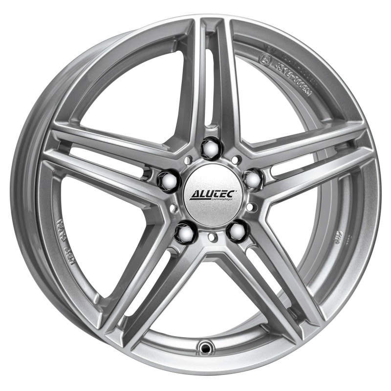 Complete set of Alutec M10 Silver Winter wheels