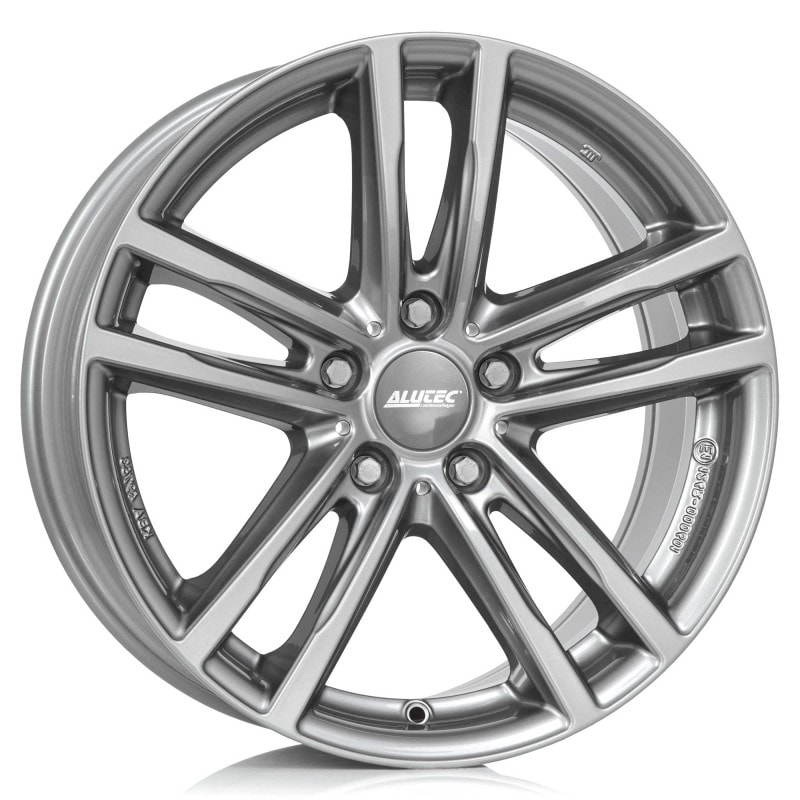 Alutec X10 Metal-Grey Fälgpaket Vinter