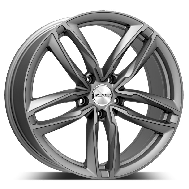 Complete set of GMP Atom Anthracite winter wheels