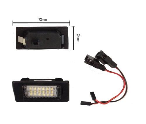 LED numerplate lights Audi & VW
