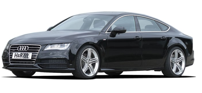 H&R Monotube coilovers - Audi A7 4G/4G1 - 2010> Sportback