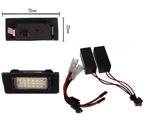 LED Nummerskyltsbelysning