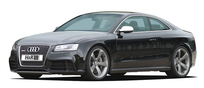 H&R lowering springs Audi RS5