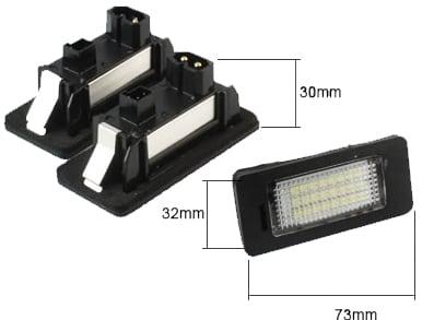 LED Nummerskyltsbelysning Bmw