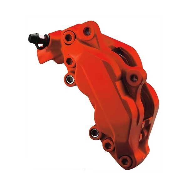 Bromsoksfärg MATT Röd 2-komponents