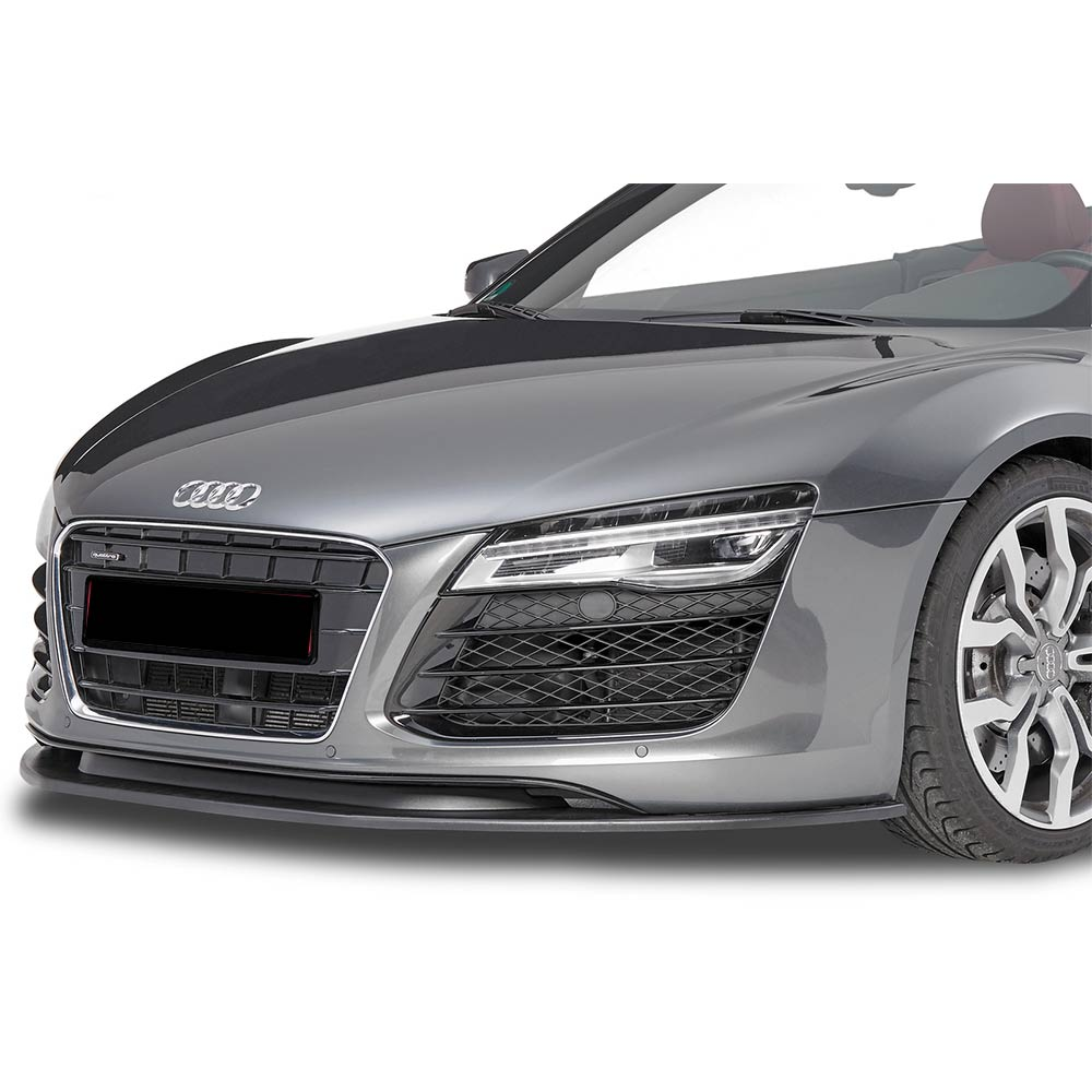 Glossy black Cupspoiler Front Audi R8