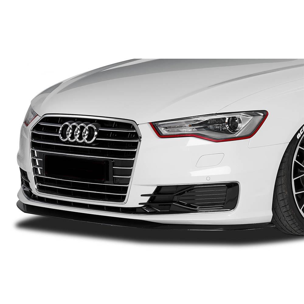 Mattsvart Cupspoiler Fram Audi A6 4G
