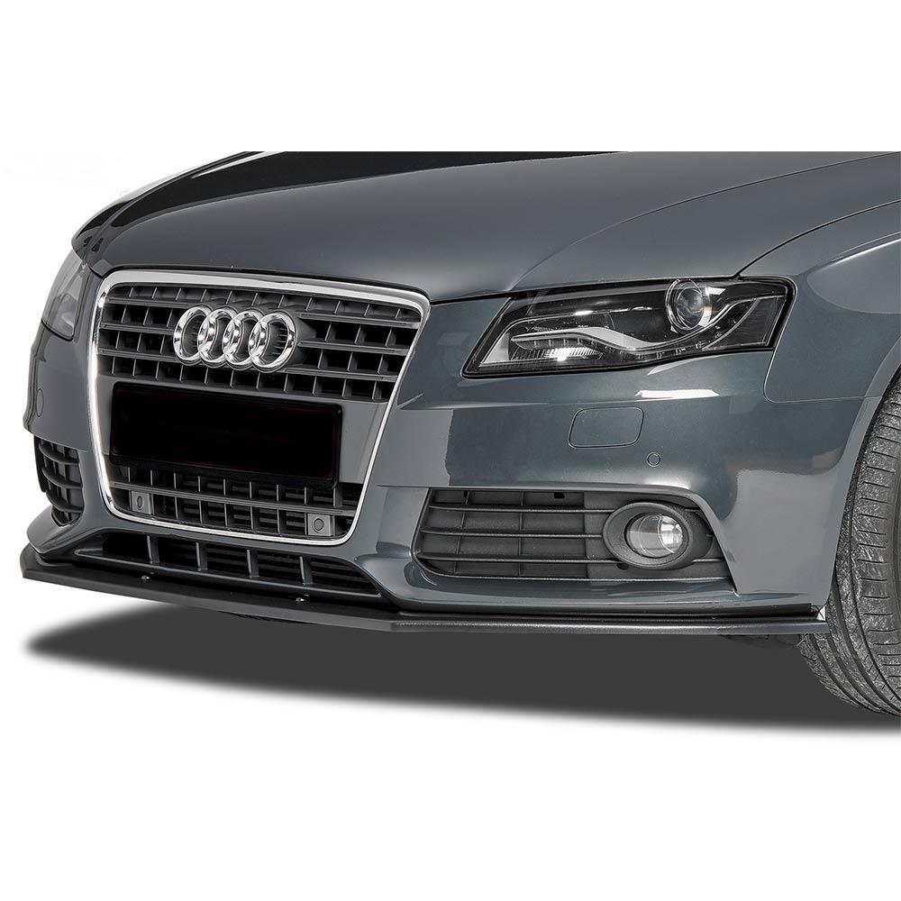 Mattsvart Cupspoiler Fram Audi A4 B8