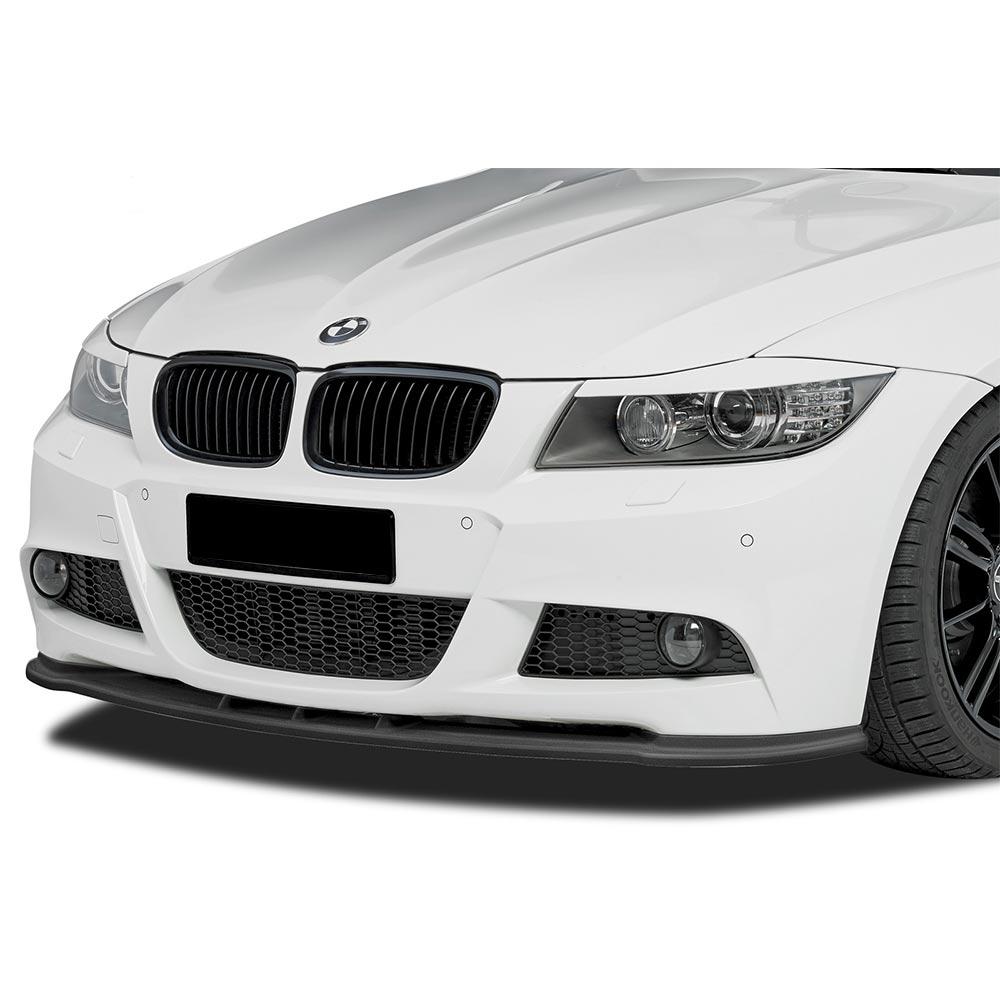 Blanksvart Cupspoiler Fram BMW E90/E91