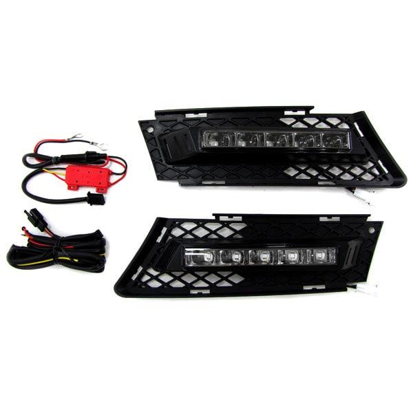 DRL LED Ljus kit R87 godkänt BMW E90