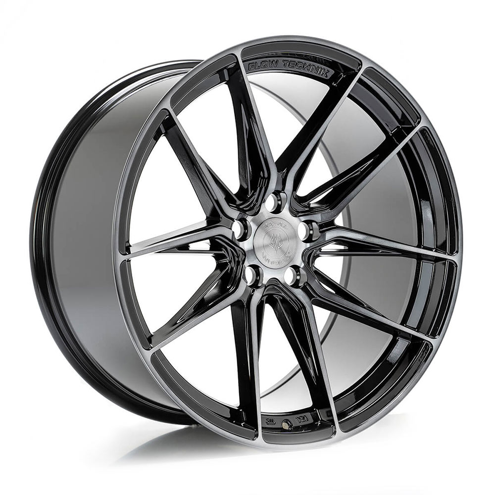 Complete wheel set of  ABS F20 Dark Tint