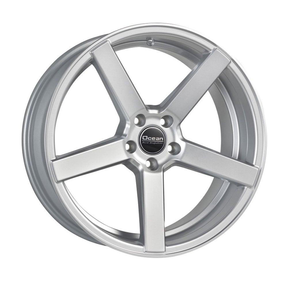Ocean Cruise Concave  Silver (9,5x19´/5x108 ET 40 )