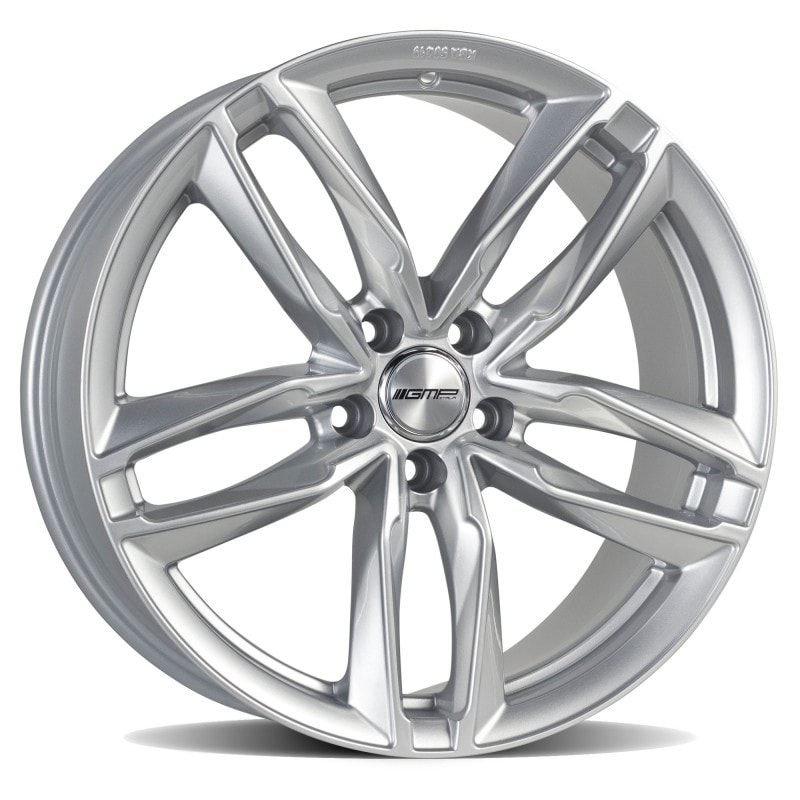 Complete set of GMP Atom Silver winter wheels
